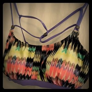 Strappy Prana bathing suit top - size Sm